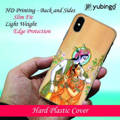 Lord Krishna with Radha Back Cover for Apple iPhone 8 Plus-Image2
