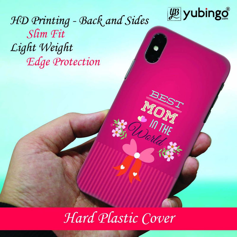 Best Mom in the World Back Cover for Oppo F9 Pro