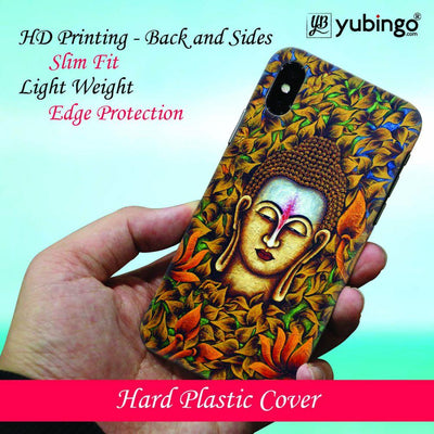 Artistic Buddha Back Cover for Apple iPhone X