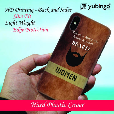 Beard Is Must Back Cover for Apple iPhone 8 Plus-Image2