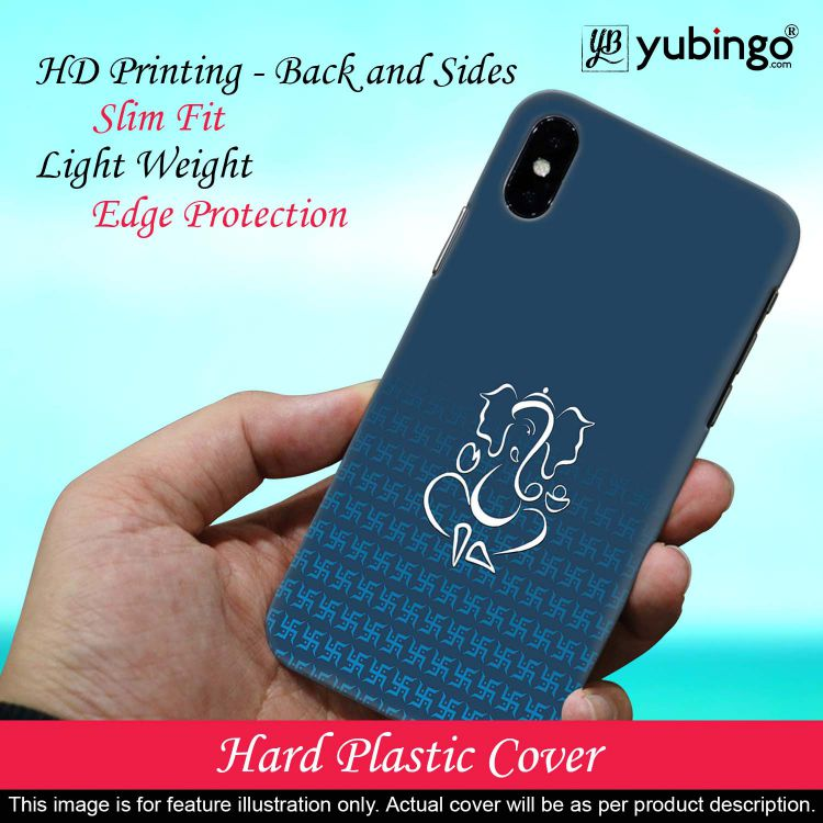 Swastik and Ganesha Back Cover for Realme 3 Pro