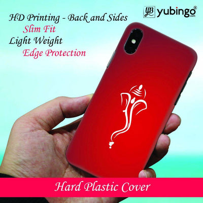 My Friend Ganesha Back Cover for Apple iPhone X
