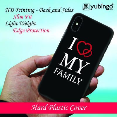 I Love My Family Back Cover for Apple iPhone 8 Plus-Image2