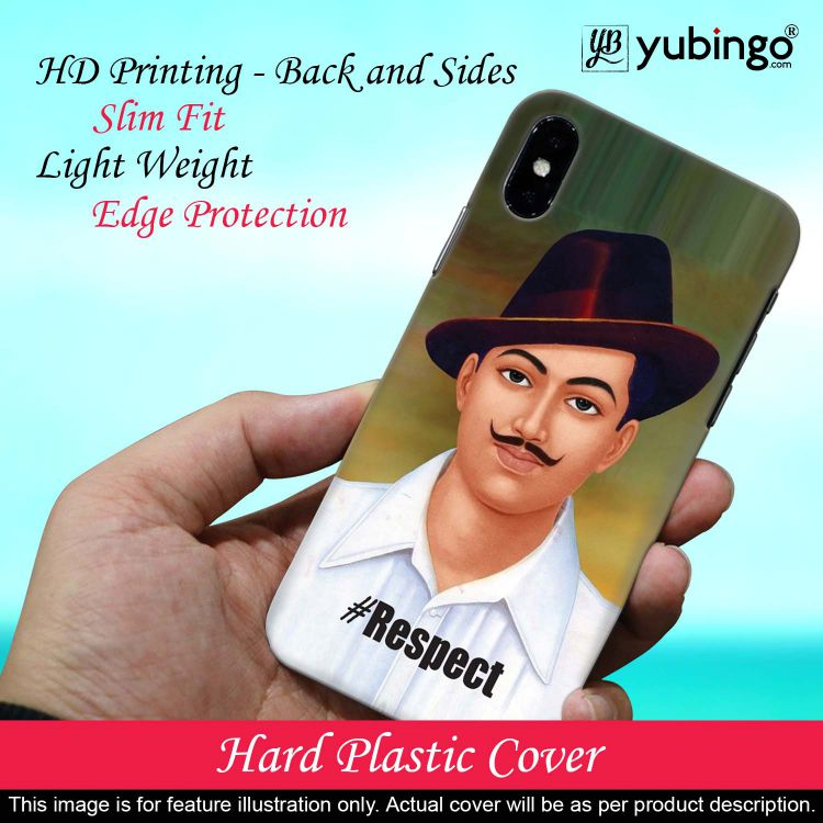 Bhagat Singh Back Cover for Realme X