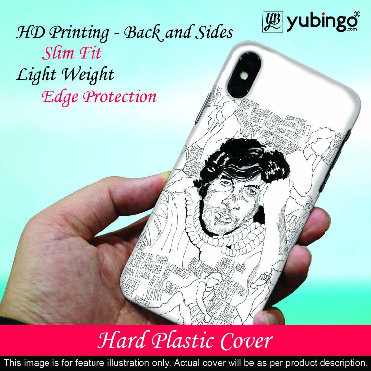 Indro's Art Big B Back Cover for Redmi 3S Prime (With Sensor)