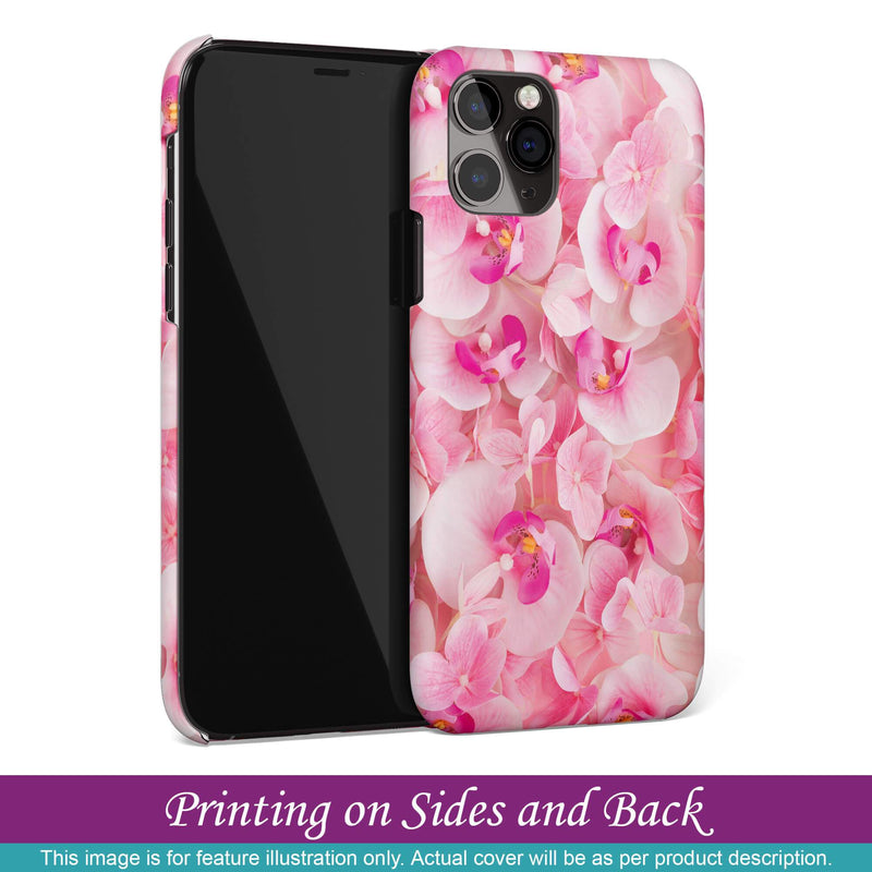 Mobile Case for Apple iPhone 8 Plus - Pink Flowers