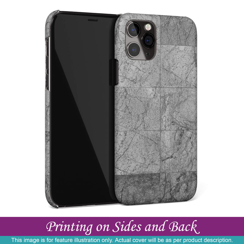 Back Case for Apple iPhone 8 Plus - Grey Floor
