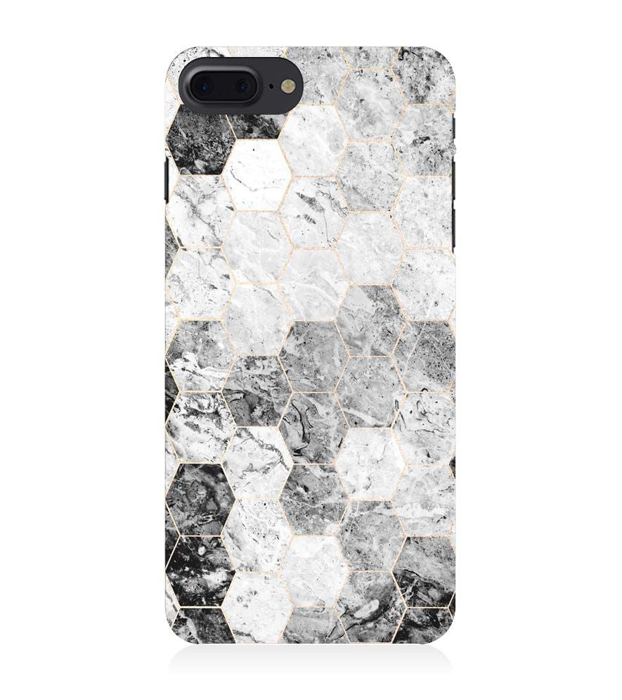 Phone Case for Apple iPhone 8 Plus - Grey Marble
