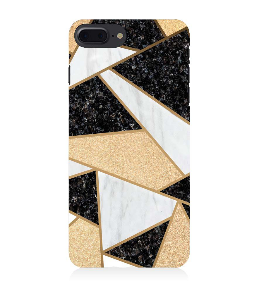Apple iPhone 8 Plus Cover - Geometric Marble
