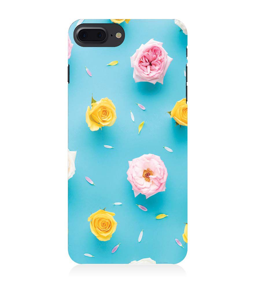 Apple iPhone 8 Plus Phone Cover - Multicolour Roses