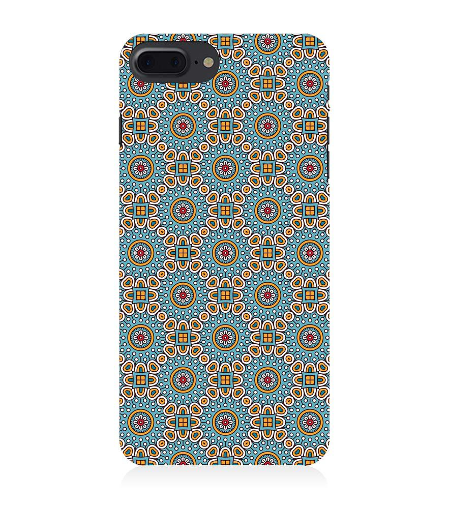 Apple iPhone 8 Plus Mobile Case - Mandala Colours