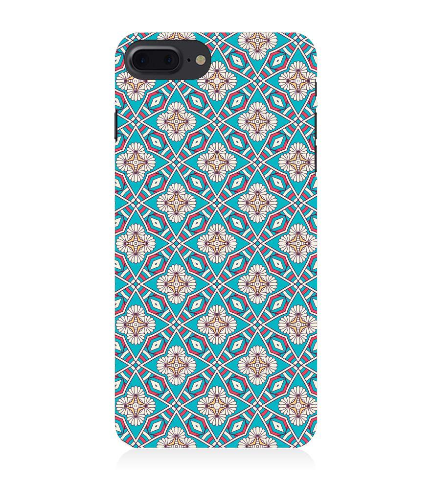 Apple iPhone 8 Plus Back Case - Classic Pattern