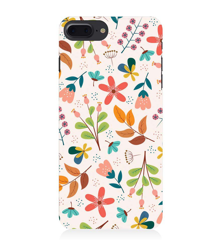 Apple iPhone 8 Plus Phone Case - Soothing Flowers