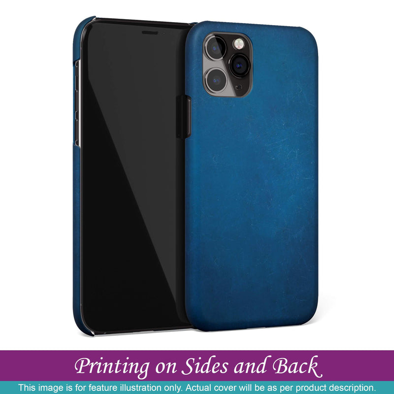 Mobile Cover for Apple iPhone 8 Plus - Blue Stone