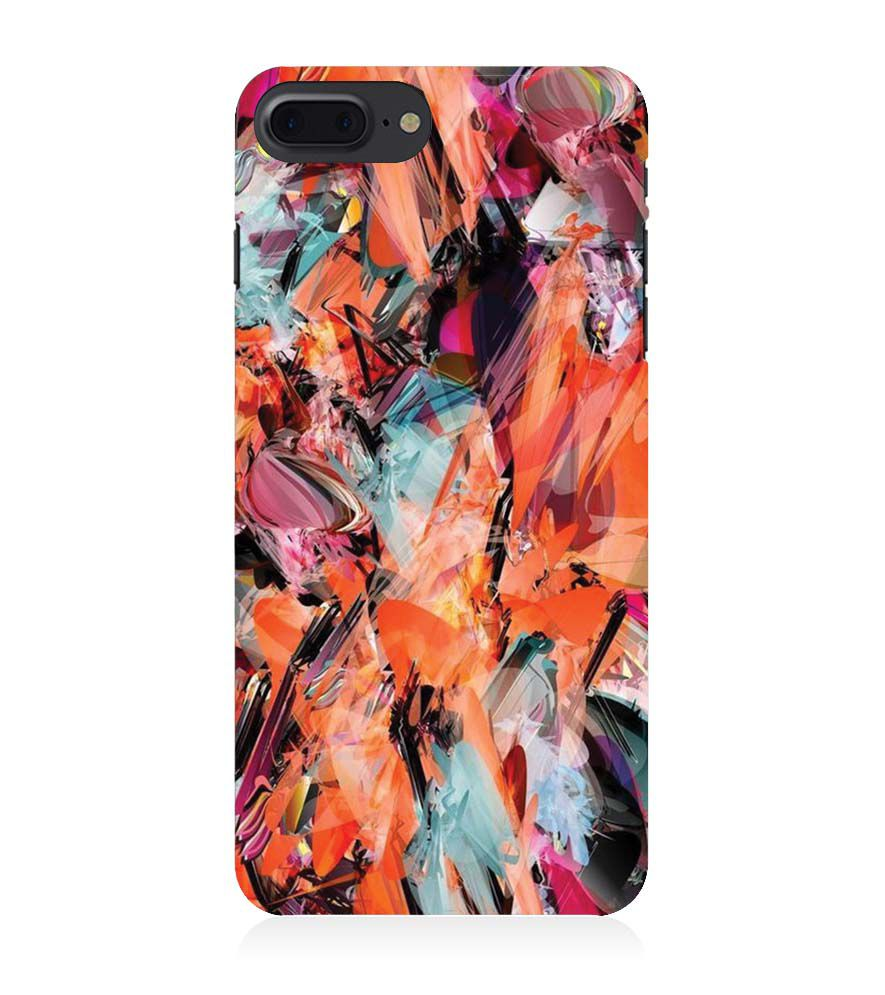 Back Case for Apple iPhone 8 Plus - Classy Modern Art