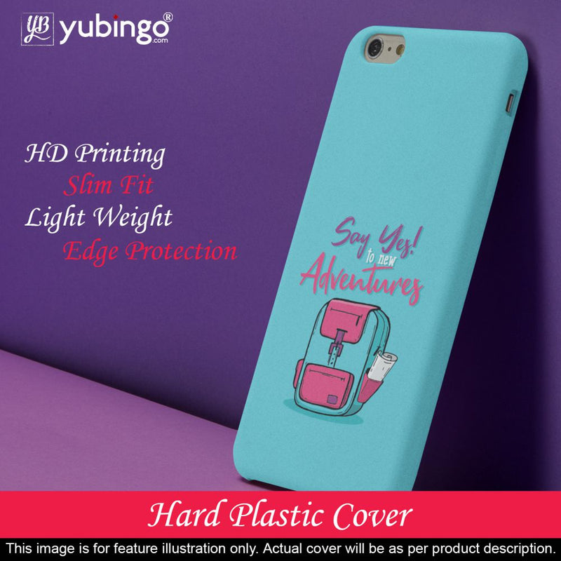 Say Yes to New Adventure Back Cover for Oppo F9 Pro