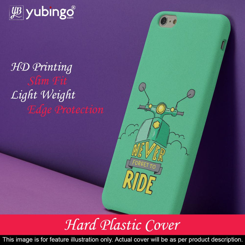 Never Forget to Ride Back Cover for Vivo Y91i
