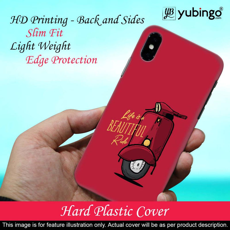 Life is Beautiful Ride Back Cover for Vivo S1 Pro
