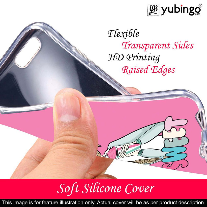 Sweet Girl Back Cover for Samsung Galaxy A20e