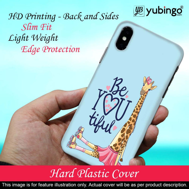 Cute Giraffe Back Cover for OnePlus X