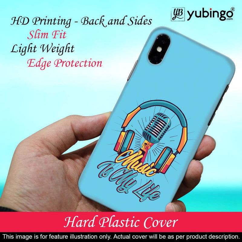 Music is My Life Back Cover for Samsung Galaxy A91