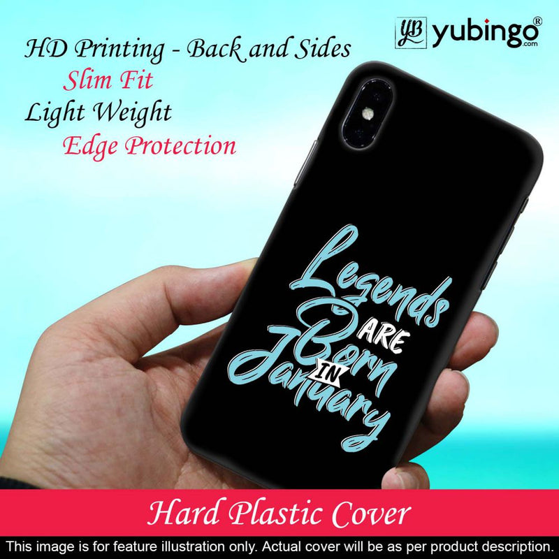 January Legends Back Cover for Huawei Y6 Prime (2019)