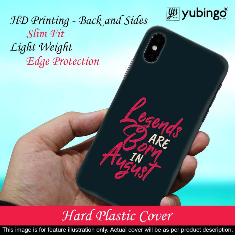 August Legends Back Cover for Samsung Galaxy A10s