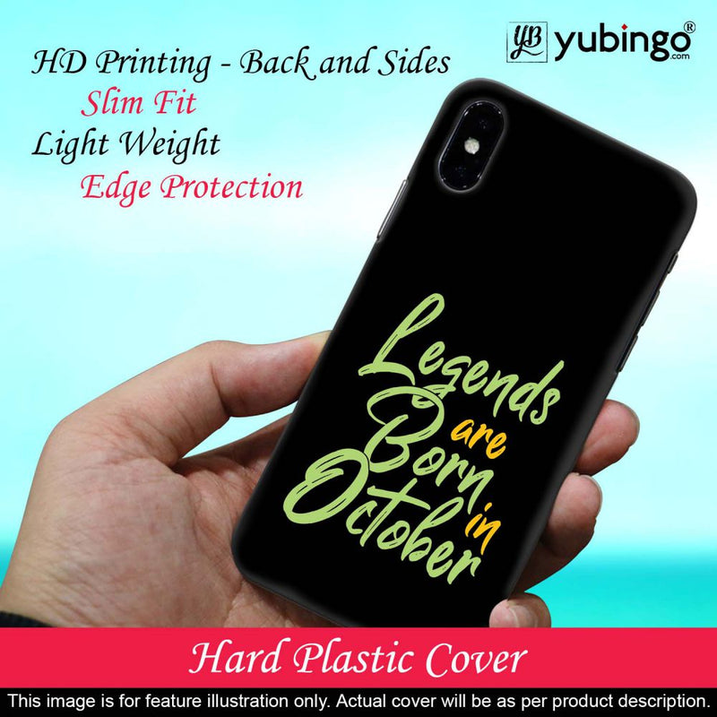 October Legends Back Cover for Motorola One Macro
