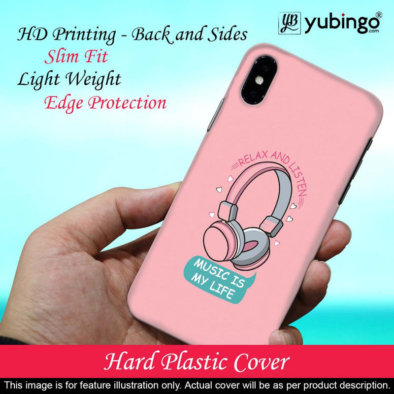 Music is Life Back Cover for Huawei Y6 Prime (2019)