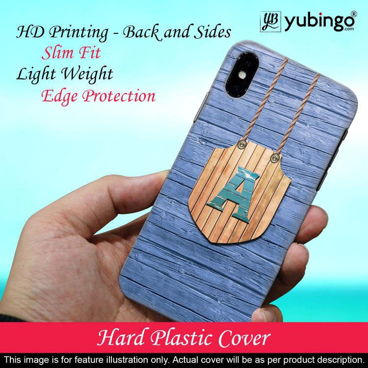 Customised Alphabet Back Cover for Samsung Galaxy J6 (2018)