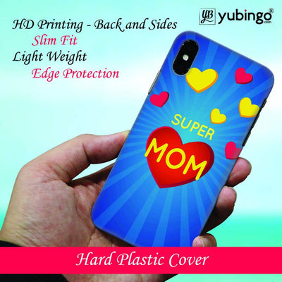 Super Mom with Big Heart Back Cover for Apple iPhone 8 Plus-Image2