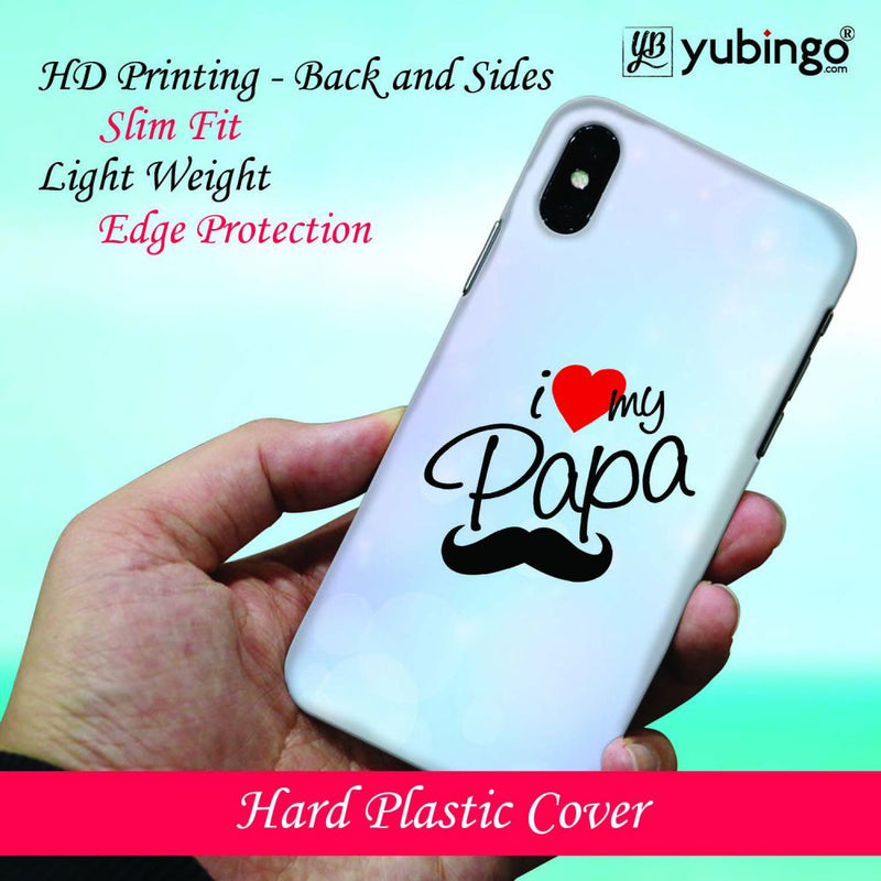 I Love My Papa Back Cover for Samsung Galaxy A30