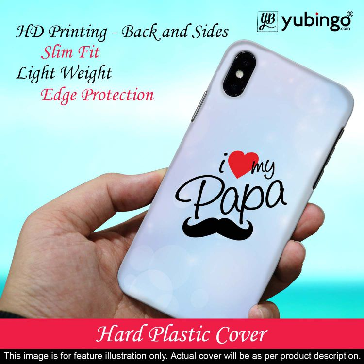 I Love My Papa Back Cover for Oppo A5 (2020)