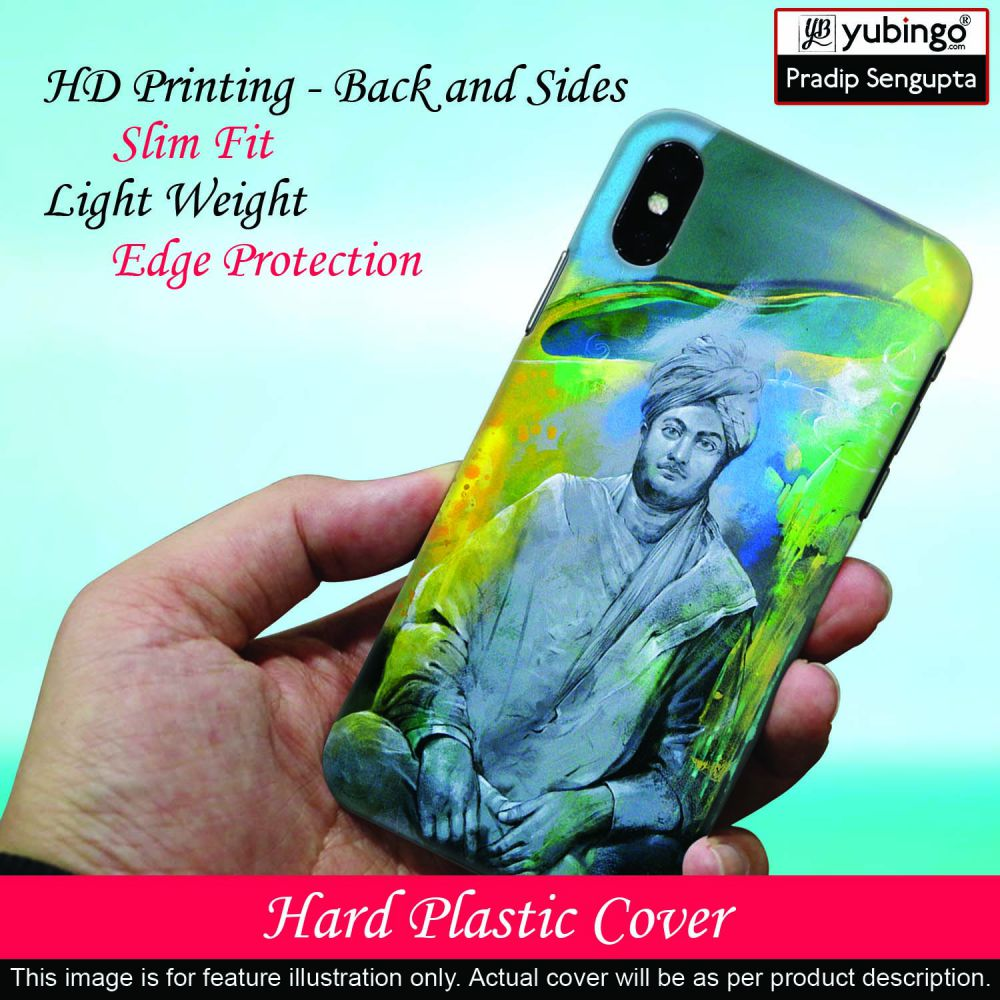 Swami Vivekananda Back Cover for Infinix Hot 7 Pro-Image2