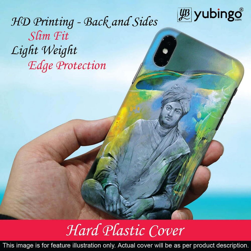 Swami Vivekananda Back Cover for Redmi 3S Prime (With Sensor)