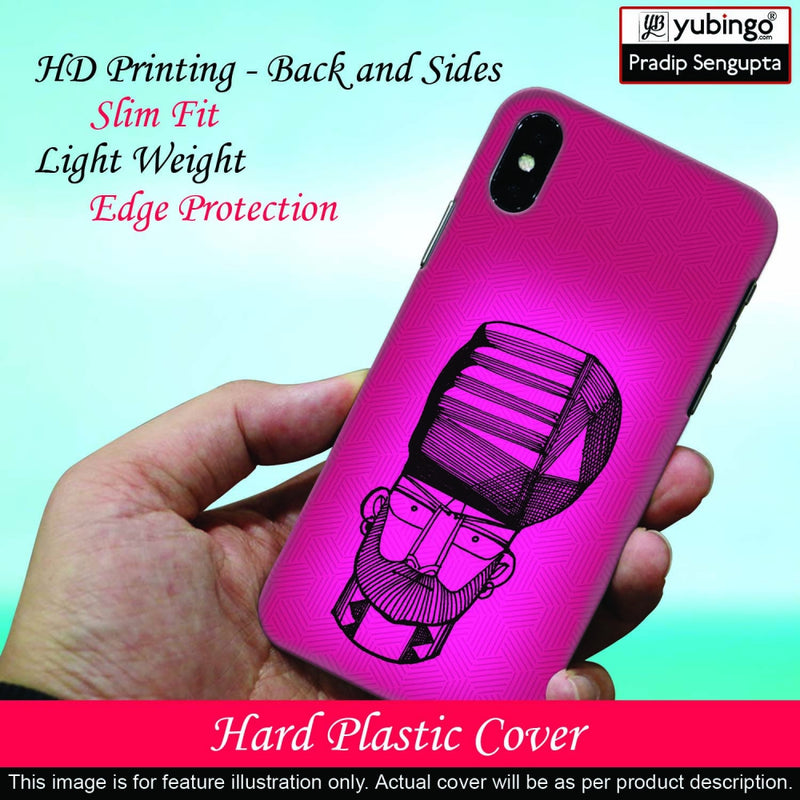Intense look Back Cover for Oppo F9 Pro