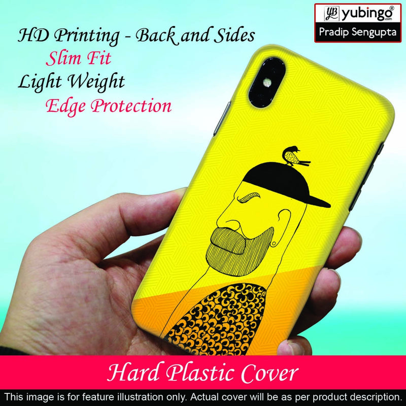Common man Back Cover for Nokia 1 Plus