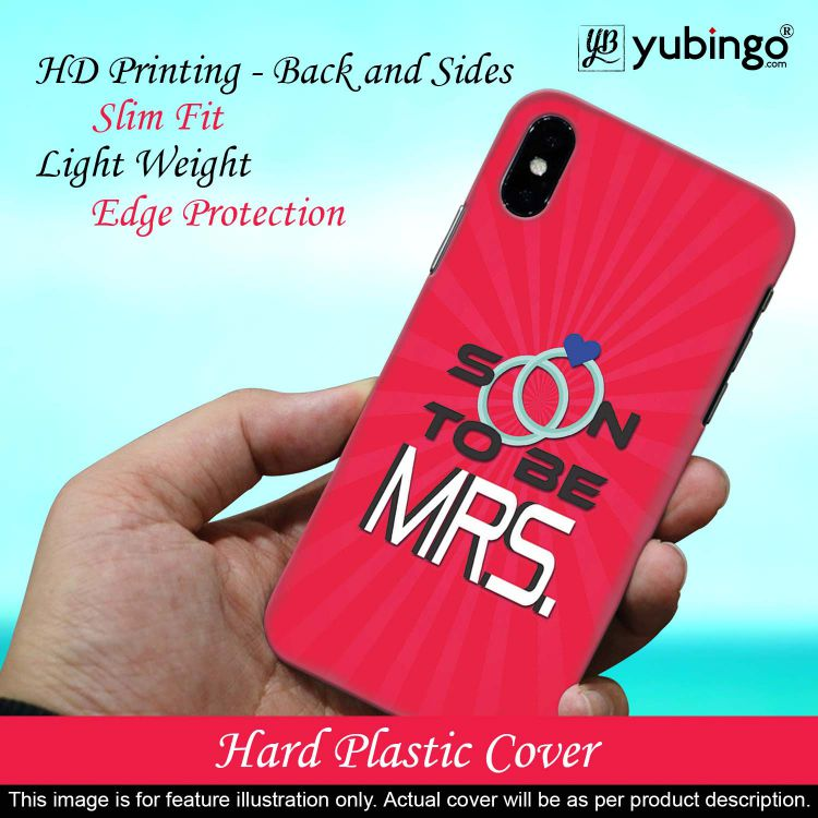 Soon to be Mrs. Back Cover for Realme 5 Pro