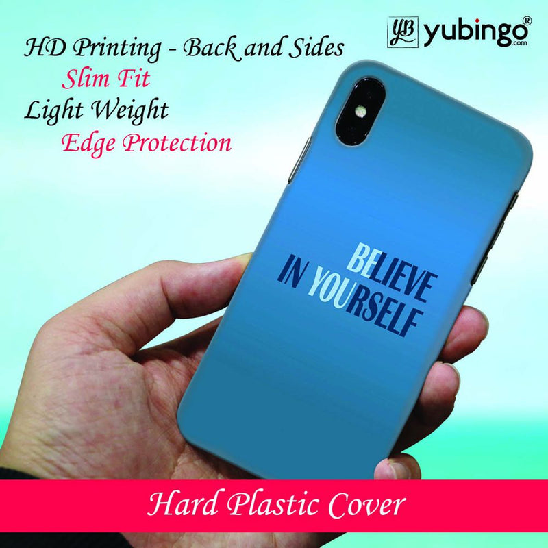 Believe in Yourself Back Cover for Oppo F9 Pro