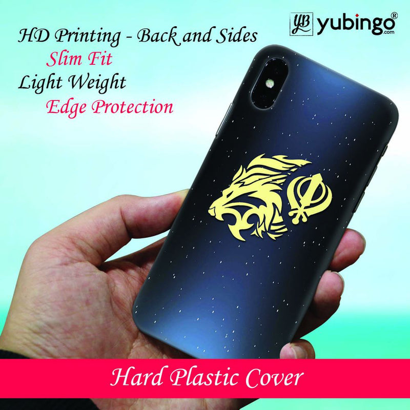 Khanda Sahib Back Cover for Samsung Galaxy A50
