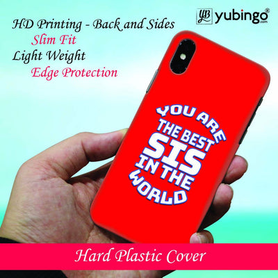 Best Sister In The World Back Cover for Apple iPhone 8 Plus-Image2
