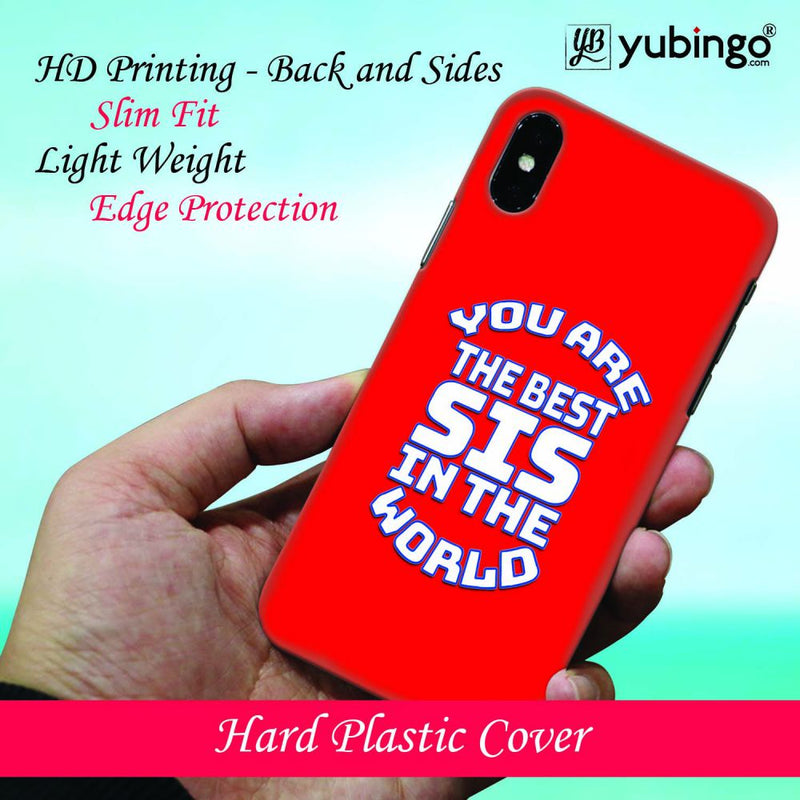Best Sister In The World Back Cover for Vivo Y83 Pro
