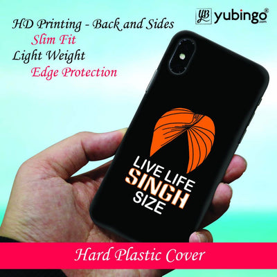 Live Life Singh Size Back Cover for Apple iPod Touch 5-Image2
