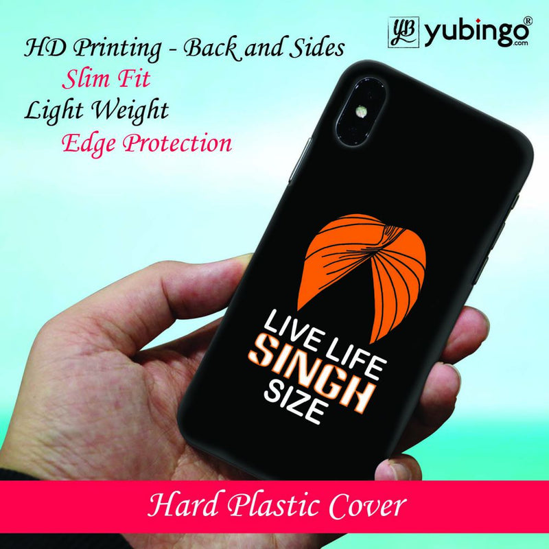 Live Life Singh Size Back Cover for Apple iPod Touch 5