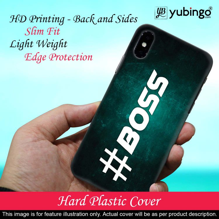 Boss Back Cover for Samsung Galaxy A70