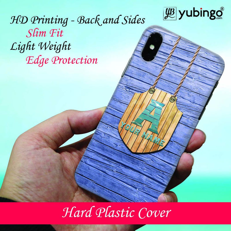 Customised Name Back Cover for Oppo F9 Pro