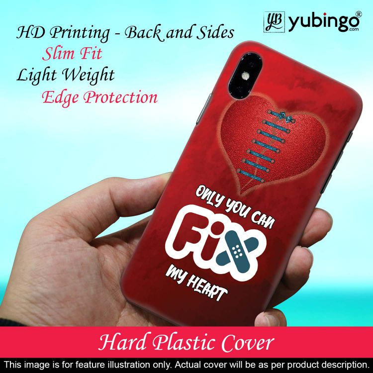 Fix My Heart Back Cover for Samsung Galaxy A70s