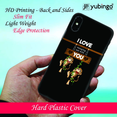 Love Hanging Out Back Cover for Apple iPhone 8 Plus-Image2