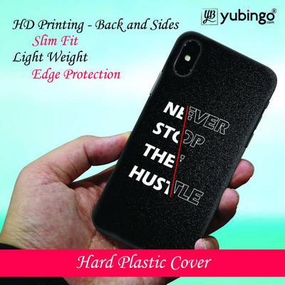 Never Stop Hustle Back Cover for Apple iPhone 8 Plus-Image2