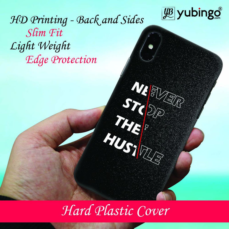 Never Stop Hustle Back Cover for Apple iPod Touch 5